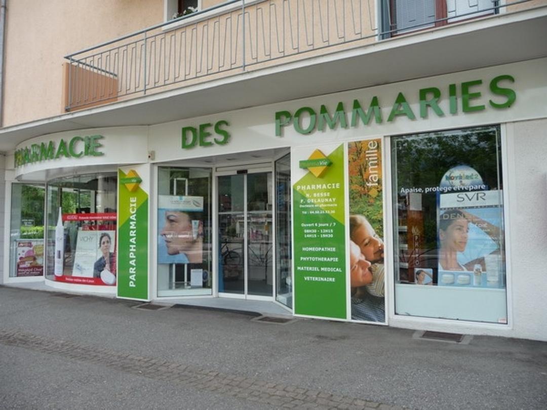 Foto del 5 de febrero de 2016 18:49, Pharmacie des Pommaries, 1 Rue des Écoles, 74940 Annecy-le-Vieux, Francia