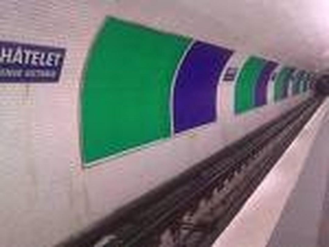 Train Station - Châtelet - Les Halles , Paris
