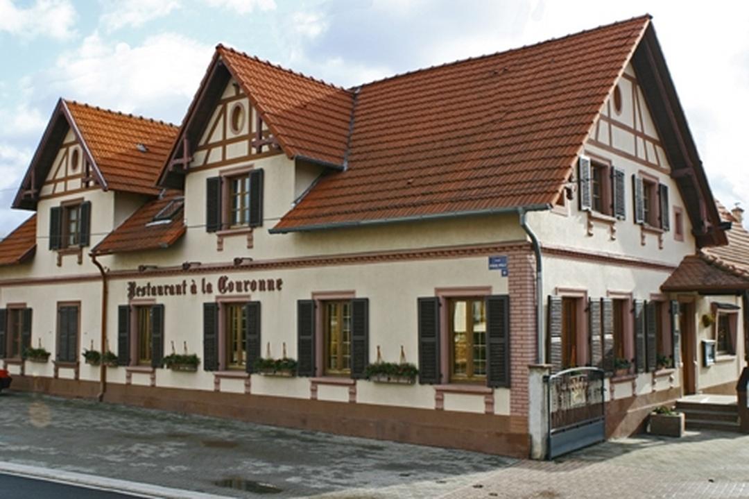 Foto vom 5. Februar 2016 18:50, Hôtel Restaurant A La Couronne, 8 Rue Principale, 67480 Roppenheim, Frankreich