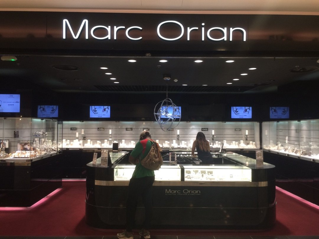 Foto del 26 de agosto de 2016 9:25, Marc Orian, Forum des Halles, Rue de l'Arc en Ciel, 75001 Paris, Francia