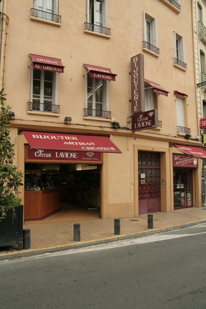 Photo of the September 7, 2016 9:04 AM, Bijouterie LAVIOSE / Au Grenat LAVIOSE, 4 Rue Maréchal Foch, 66000 Perpignan, France
