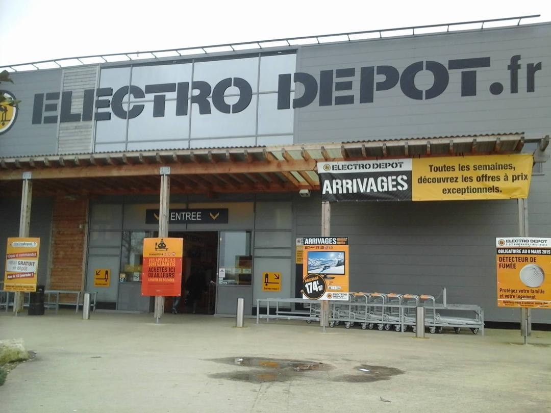Photo of the February 5, 2016 6:56 PM, ELECTRO DEPOT, 21 Route de la Rochelle, 79000 Bessines, France