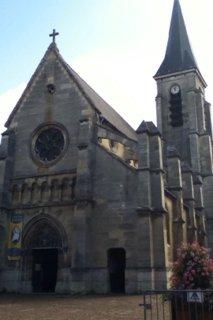 Photo du 9 août 2016 10:42, Église Saint-Hermeland, 8 Place de la République, 92220 Bagneux, France