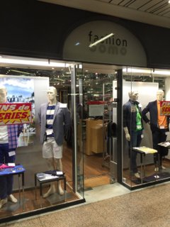 Photo of the August 26, 2016 12:02 PM, Fashion Uomo, 20 Ter Rue de Bezons, 92400 Courbevoie, France
