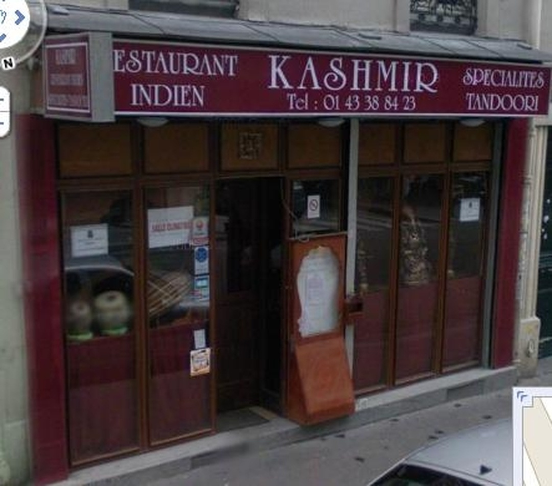 Restaurant - Kashmir , Paris