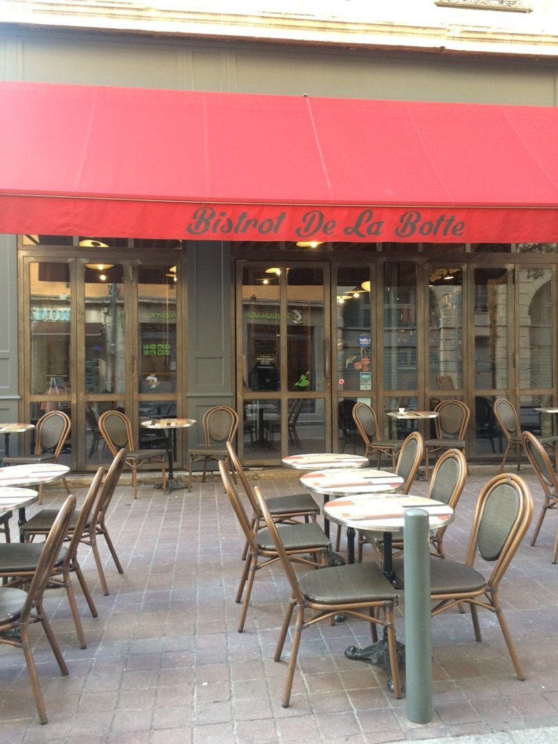 Foto del 18 de octubre de 2016 14:04, Bistrot de la Botte, 8 Rue Mgr Lavarenne, 69005 Lyon, Francia