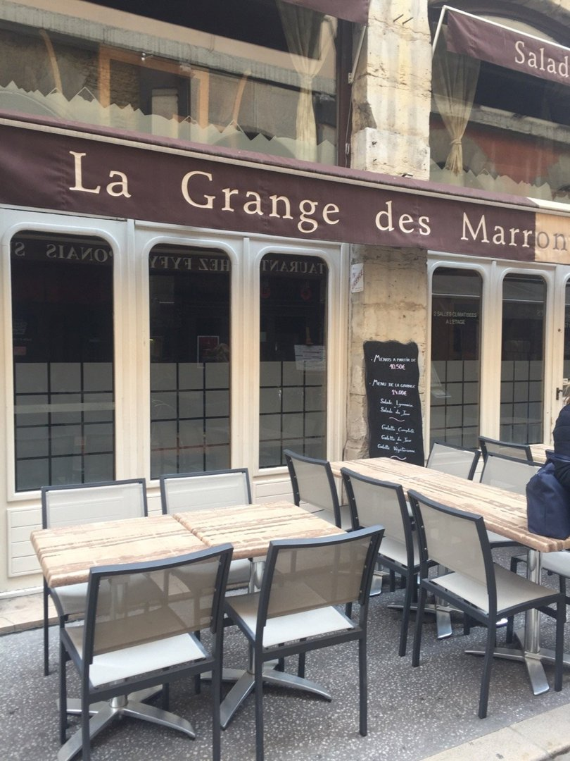 Photo of the October 18, 2016 2:13 PM, La Grange des Marronniers, 7 Rue des Marronniers, 69002 Lyon, France