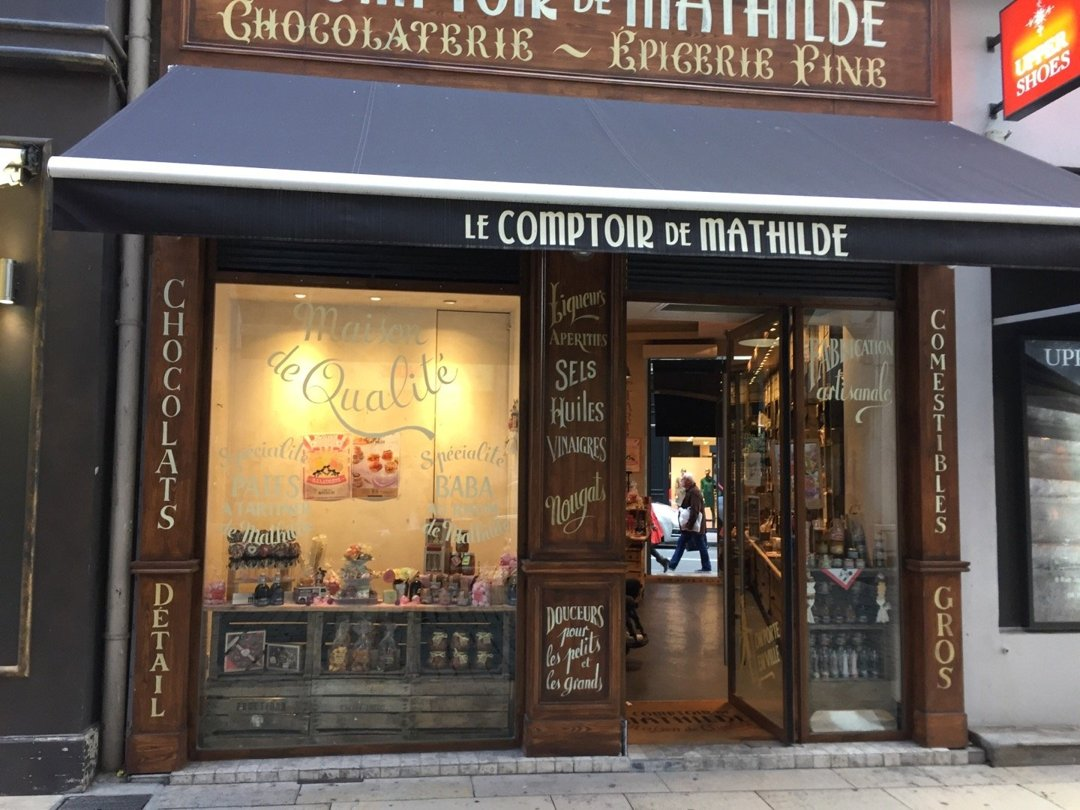 Photo of the October 18, 2016 1:49 PM, Le Comptoir de Mathilde, 54 Rue de Brest, 69002 Lyon, France