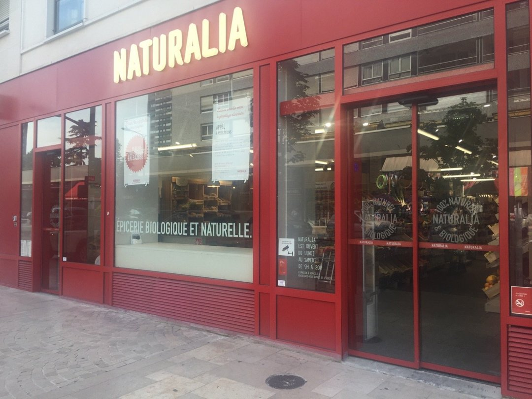 Foto del 26 de agosto de 2016 12:44, Naturalia, 43 Rue de Bezons, 92400 Courbevoie, Francia