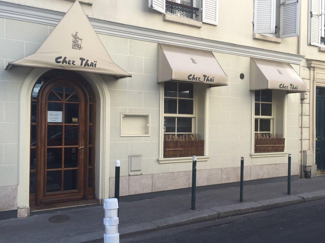 Foto vom 26. August 2016 09:26, Chez Thai, 4 Rue de l'Église, 92200 Neuilly-sur-Seine, Frankreich