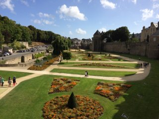 Foto vom 19. August 2016 16:55, Jardins des Remparts, 56000 Vannes, France
