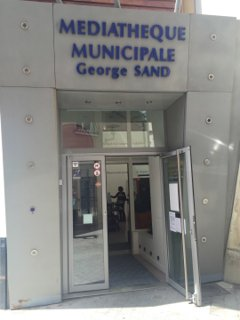 Photo of the July 6, 2016 11:51 AM, Mediatheque George Sand, 7 Rue de Mora, 95880 Enghien-les-Bains, France