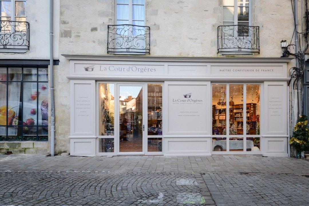Foto vom 11. August 2016 12:43, Confitures La Cour d'Orgères - Vannes, 26 Rue Saint-Vincent, 56000 Vannes, Frankreich