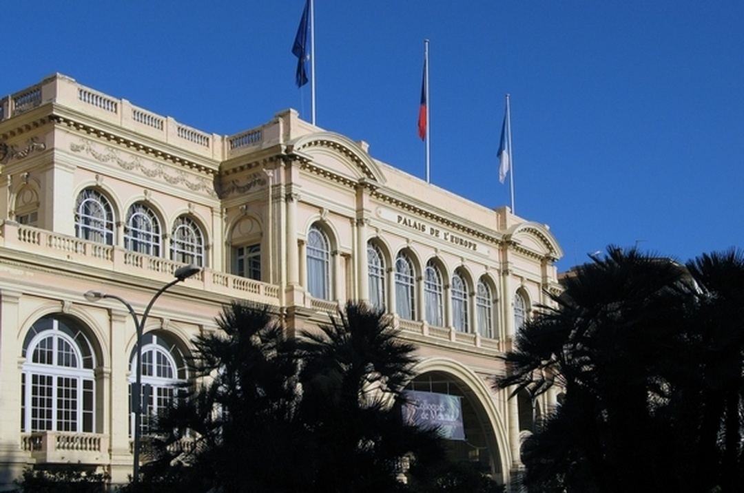 Photo of the February 5, 2016 6:51 PM, Palais de l'Europe, 8 Avenue Boyer, 06506 Menton, France