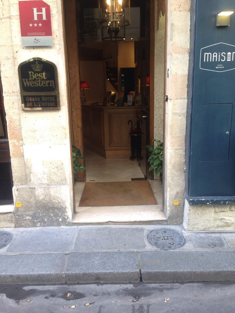 Foto del 9 de septiembre de 2016 13:14, Hôtel de Buci, 22 Rue de Buci, 75006 Paris, Francia