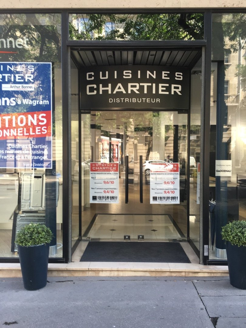 Photo of the August 26, 2016 11:50 AM, Arthur Bonnet - Cuisiniste Paris 17ème, 62 Avenue de Wagram, 75017 Paris, France