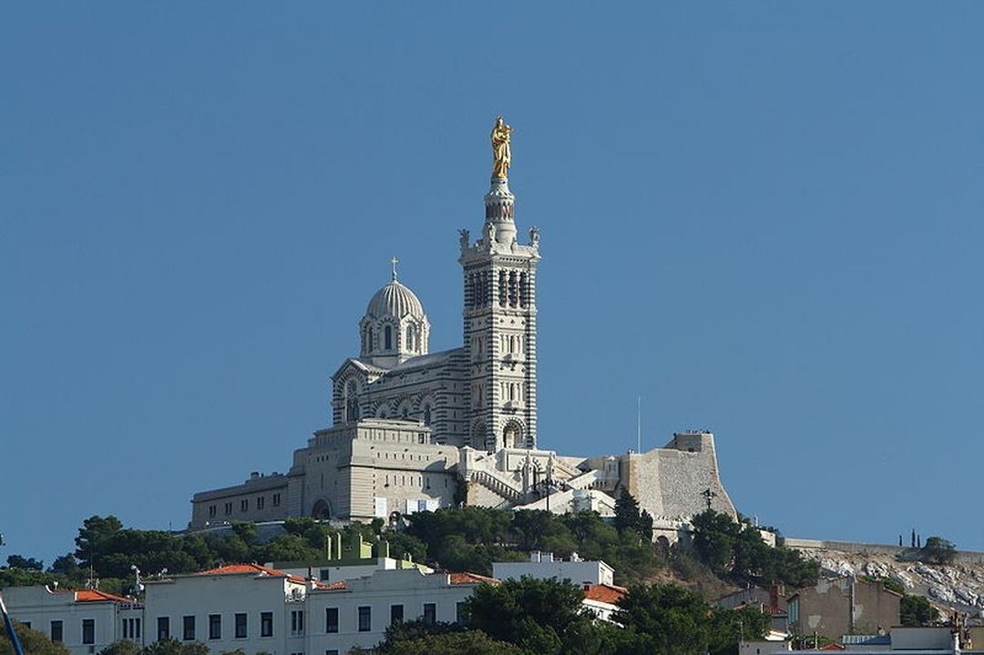 Denkmal - Notre-Dame-de-la-Garde , Marseille