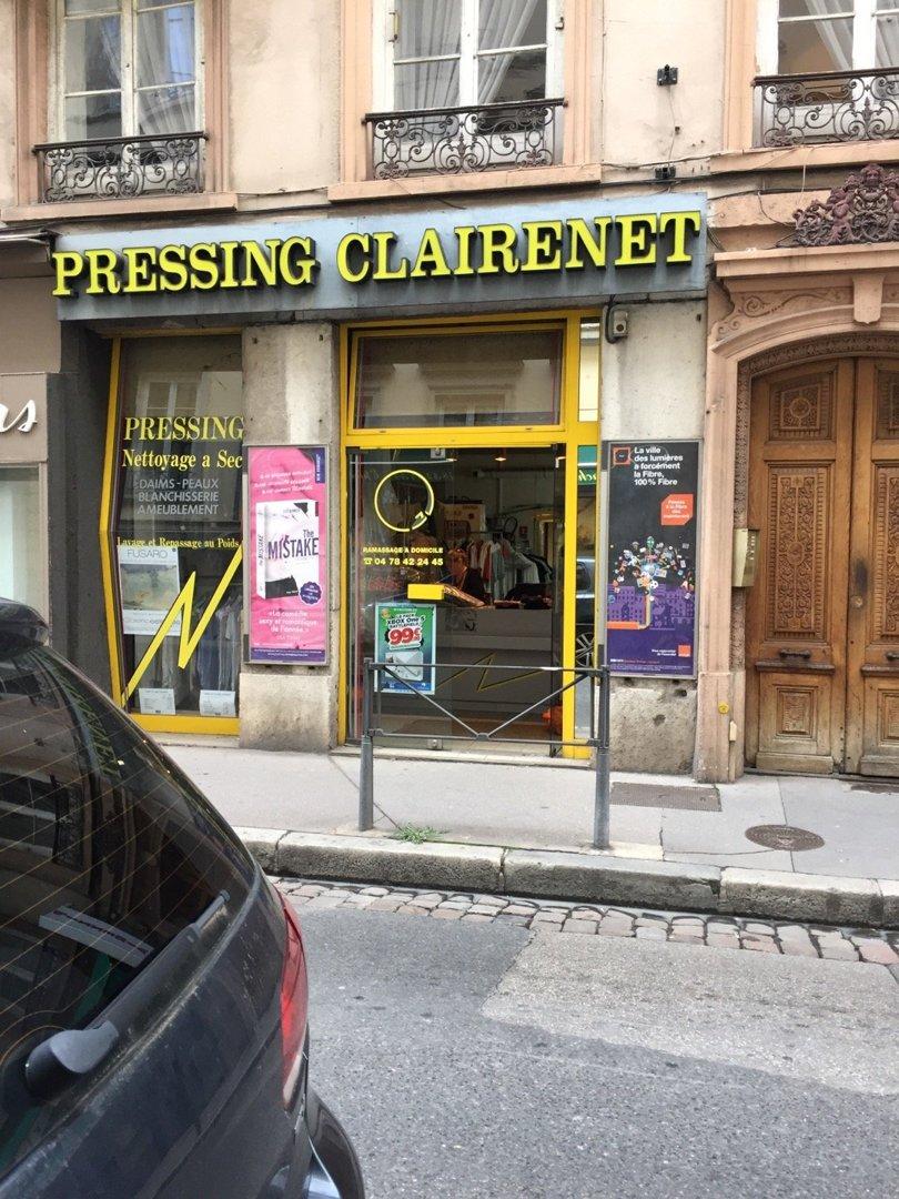 Foto vom 18. Oktober 2016 13:46, Pressing Clairenet, 21 Rue Sainte-Hélène, 69002 Lyon, Frankreich