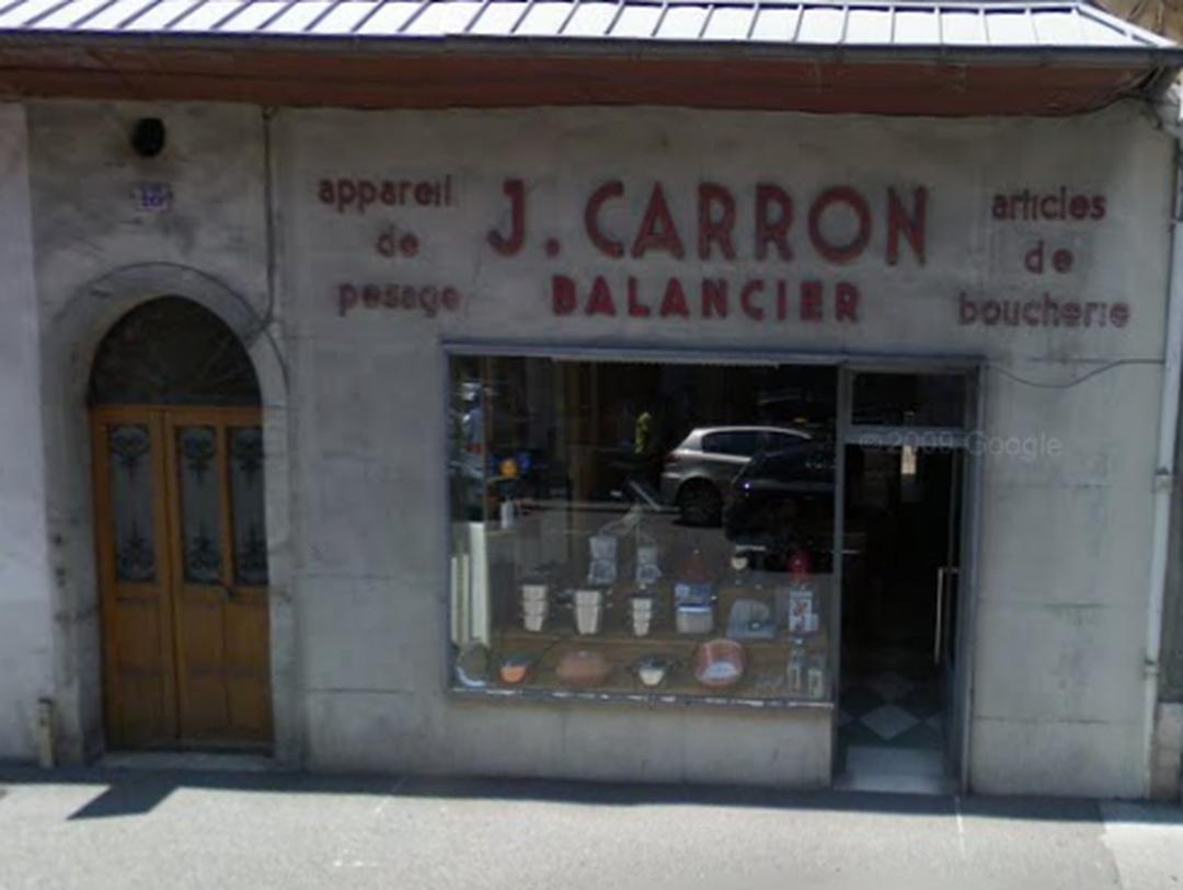 Store - j carron balancier , Chambéry