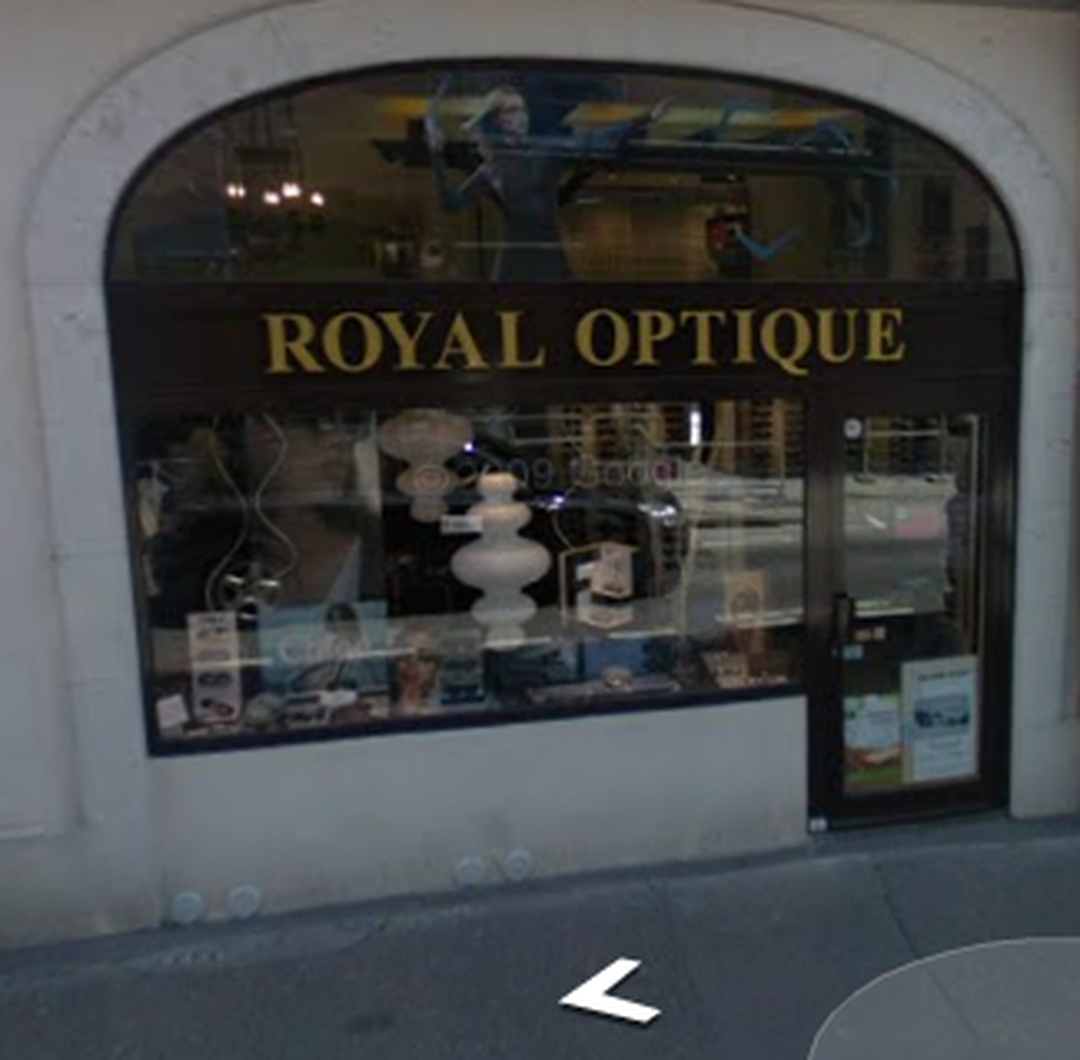 Photo of the February 5, 2016 6:52 PM, Royal Optique, 11 Rue Royale, 74000 Annecy, France