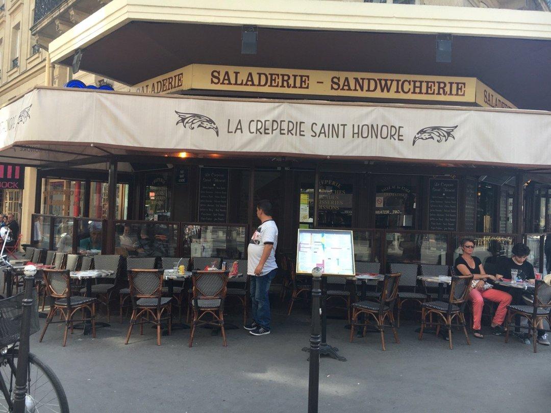 Foto del 26 de agosto de 2016 12:04, La Crêperie Saint-Honoré, 24 Rue du Pont Neuf, 75001 Paris, Francia