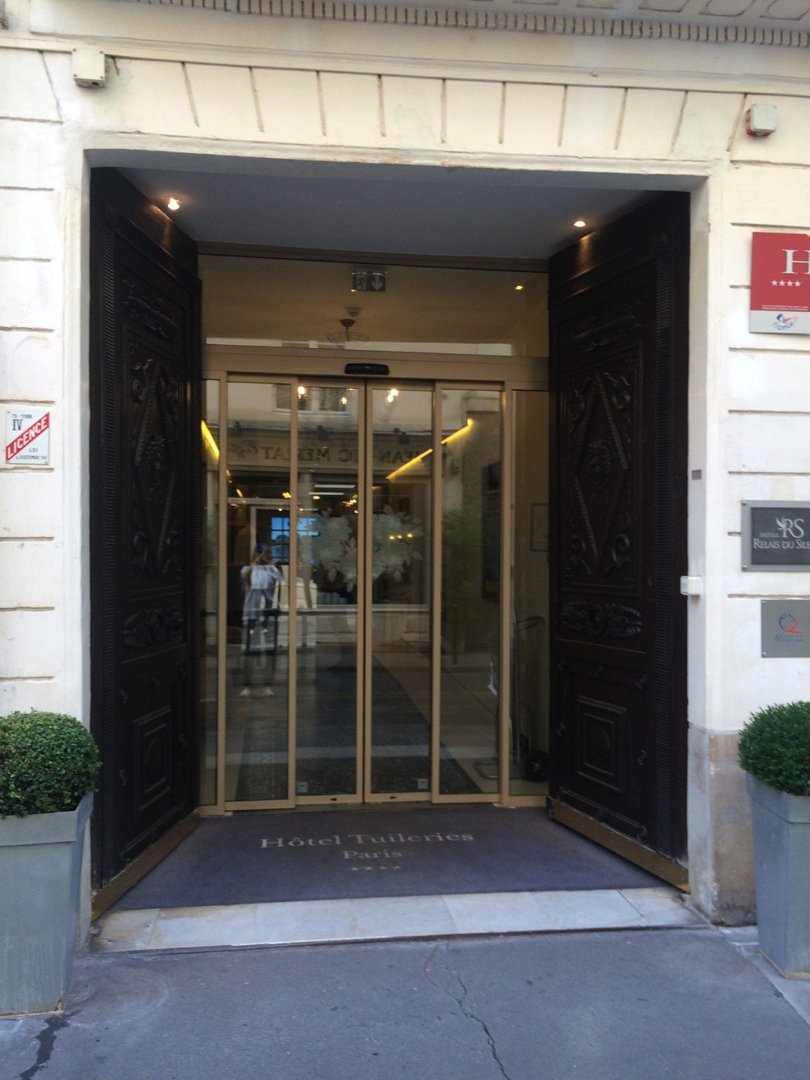 Foto vom 9. September 2016 14:51, Hôtel des Tuileries Paris, 10, Rue Hyacinthe, 75001 Paris, Frankreich