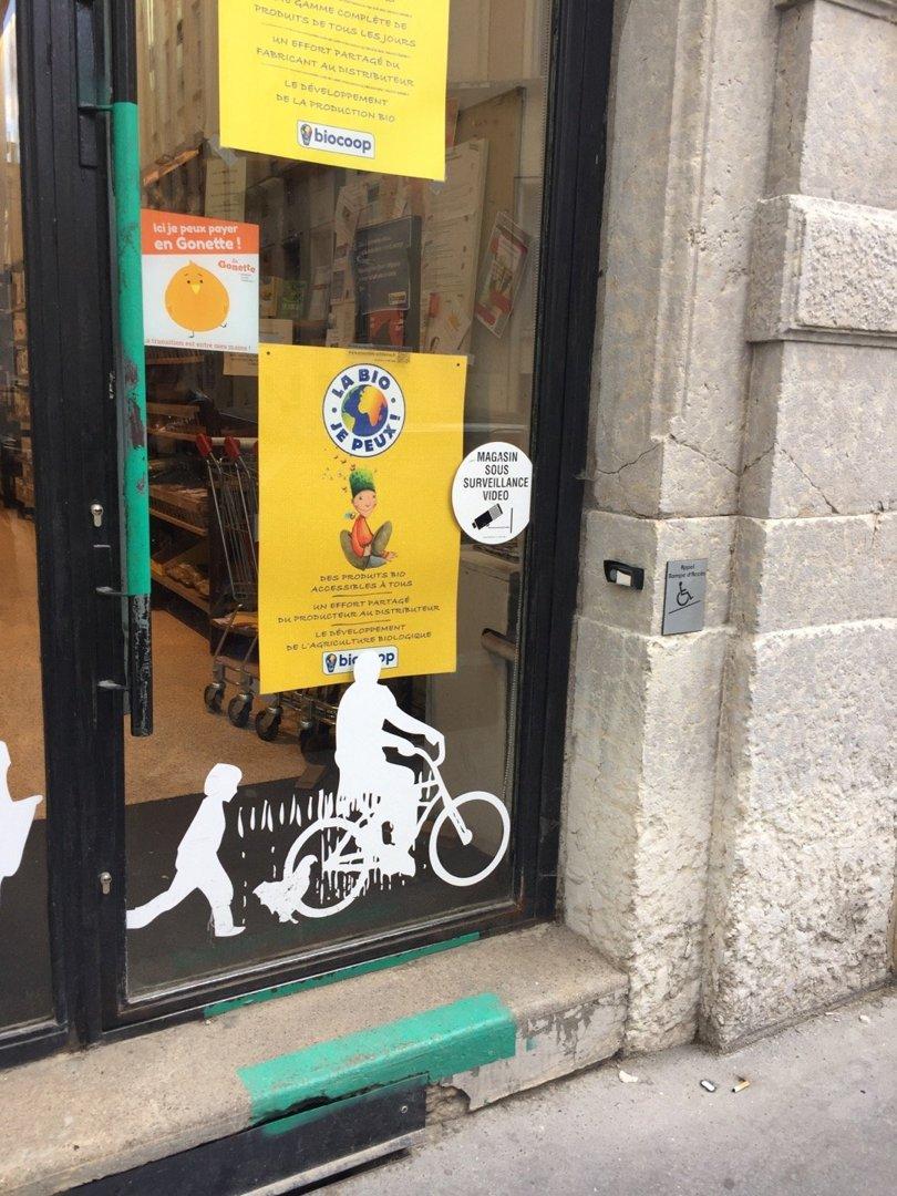 Foto del 18 de octubre de 2016 13:45, Biocoop Lyon Bellecour, 32 Rue du Plat, 69002 Lyon, Francia