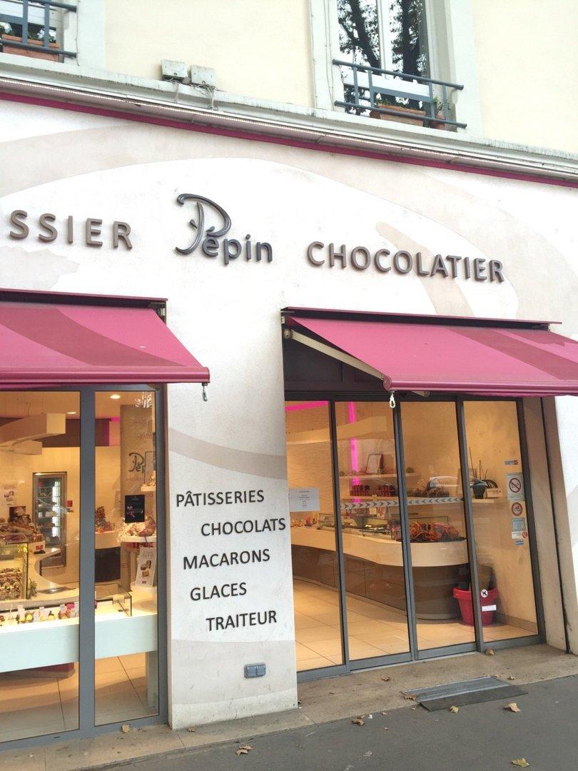 Foto vom 18. Oktober 2016 13:43, Chocolaterie Pâtisserie Pépin, 54 Cours Charlemagne, 69002 Lyon, Frankreich