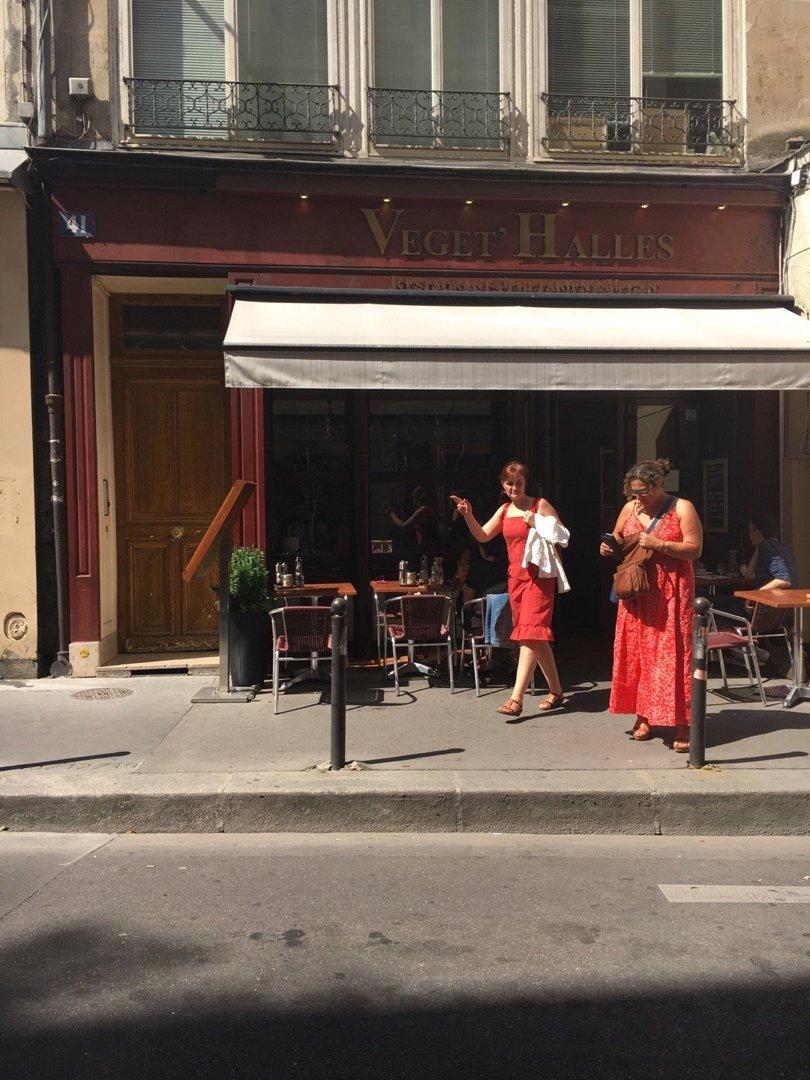 Foto del 26 de agosto de 2016 12:15, Végét'Halles, 41 Rue des Bourdonnais, 75001 Paris, Francia