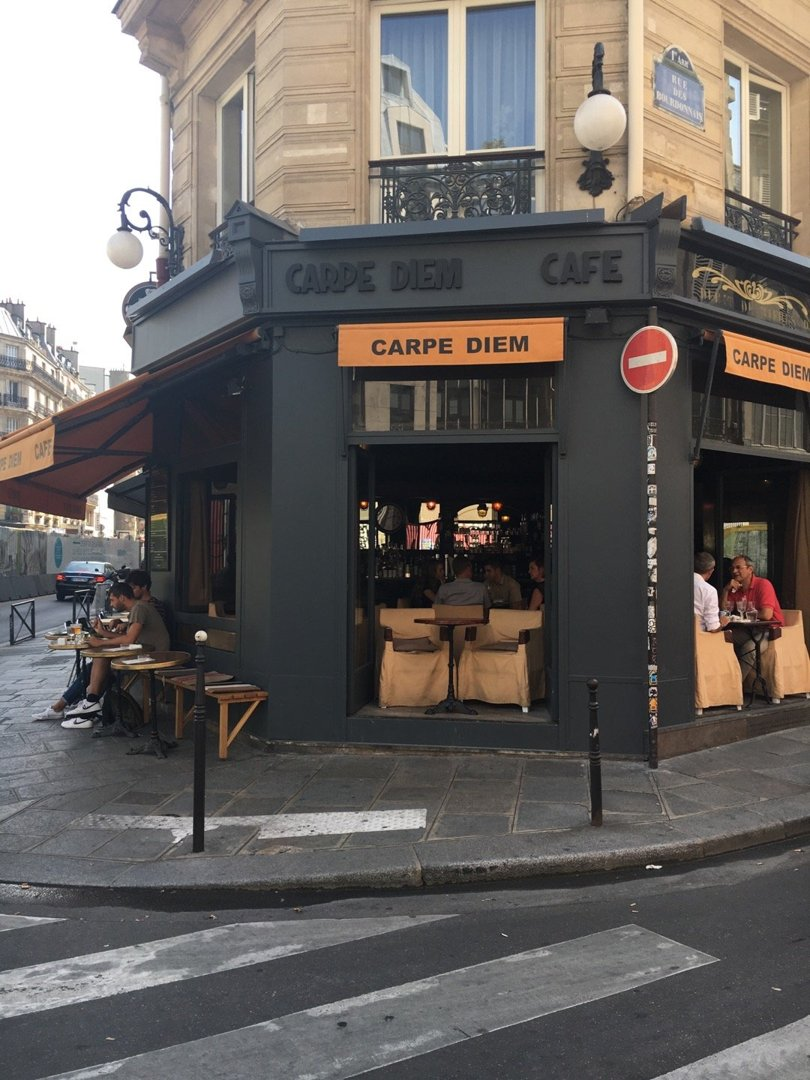 Photo du 26 août 2016 12:14, Carpe Diem Café, 21 Rue des Halles, 75001 Paris, France