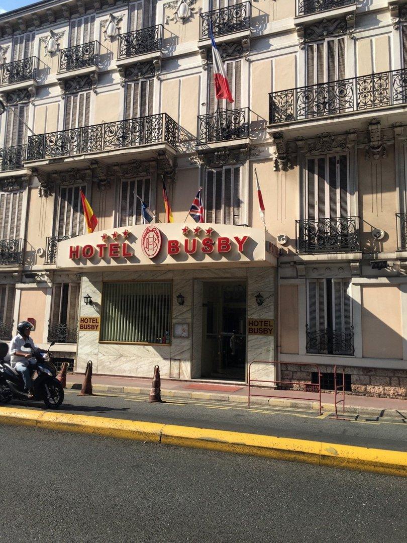 Photo of the September 9, 2016 2:06 PM, Hôtel Busby, 38 Rue du Maréchal Joffre, 06000 Nice, France