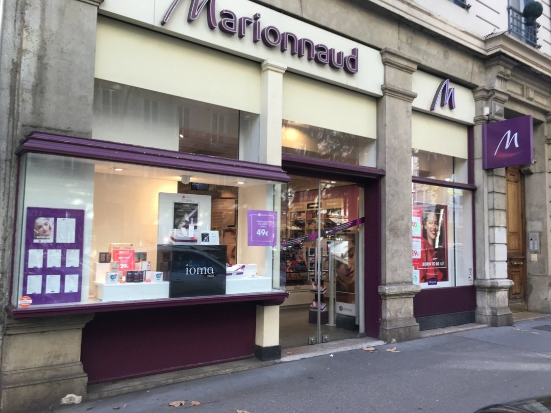 Foto del 18 de octubre de 2016 14:12, Marionnaud, 56 Cours Franklin Roosevelt, 69006 Lyon, Francia