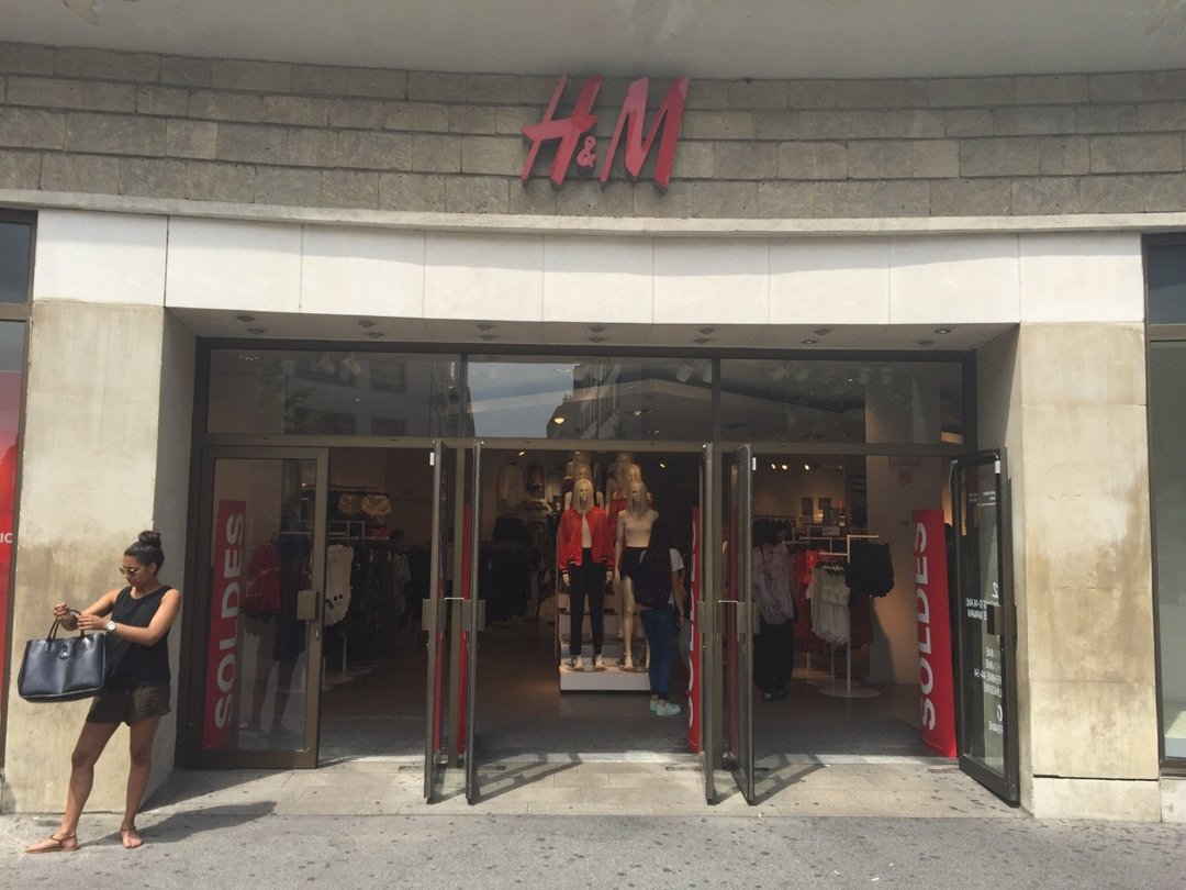 Photo of the July 20, 2016 12:57 PM, H&M, 1 Rue de Budapest, 44000 Nantes, France
