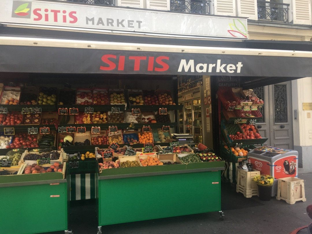 Photo of the August 26, 2016 1:21 PM, Sitis Market, 63 Avenue Charles de Gaulle, 92200 Neuilly-sur-Seine, France