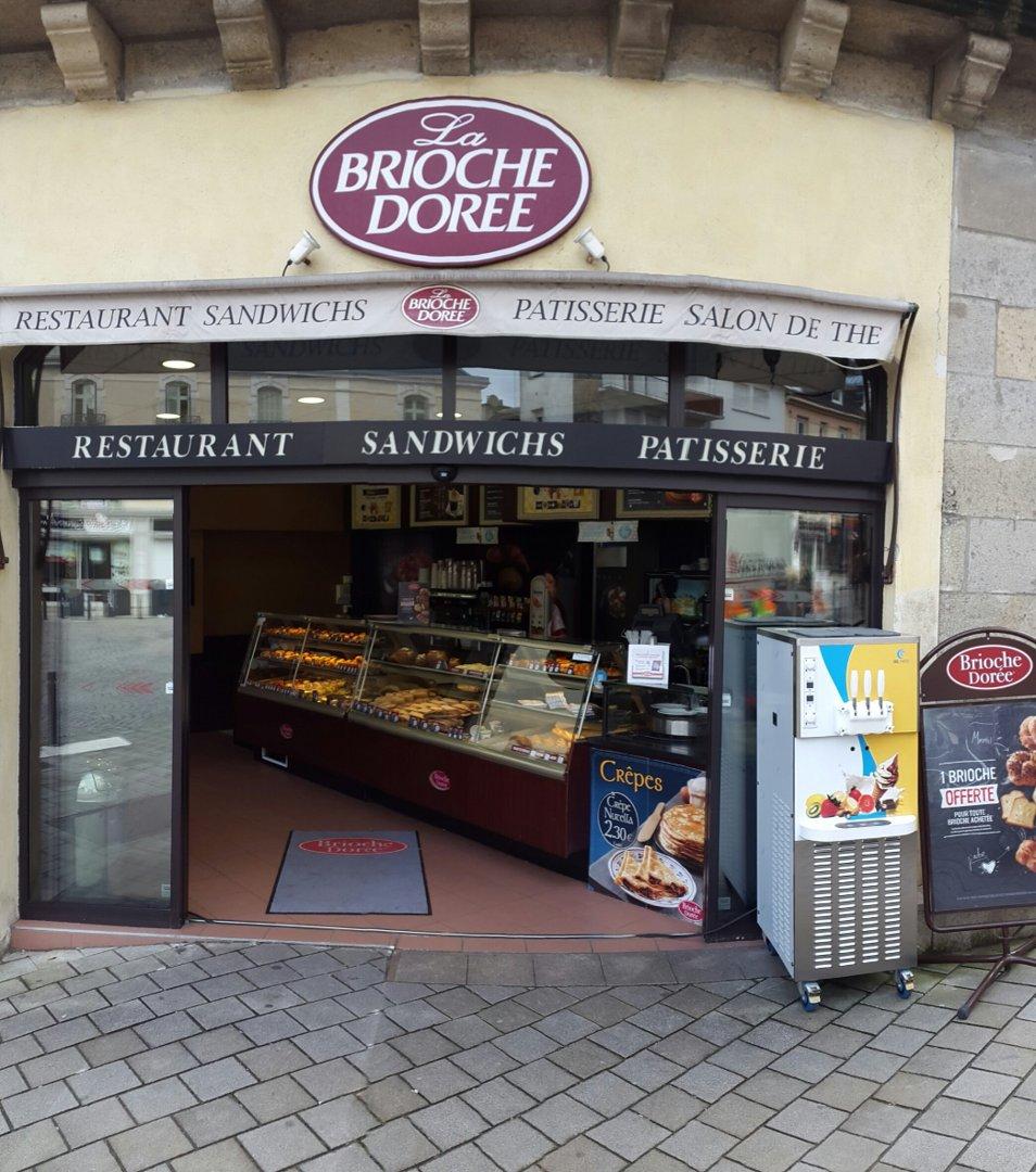 Foto vom 28. Juni 2016 16:08, Brioche Doree, 18 Rue Billault, 56000 Vannes, Frankreich
