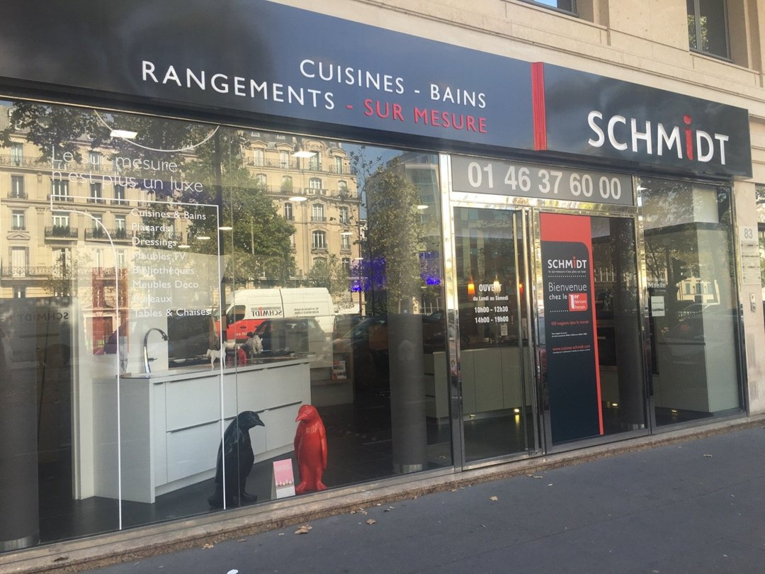 Foto del 26 de agosto de 2016 13:25, SCHMIDT Neuilly-Sur-Seine, 83 Avenue Charles de Gaulle, 92200 Neuilly-sur-Seine, Francia