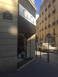 Foto del 26 de agosto de 2016 8:44, Côte à Côté, 25 Avenue de Wagram, 75017 Paris, France