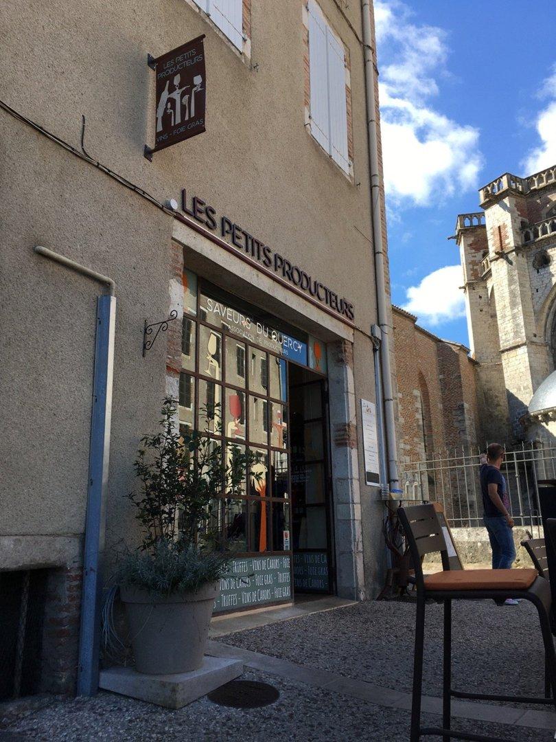 Foto del 5 de septiembre de 2016 10:17, Les Petits Producteurs - Saveurs Quercy, 4 Place Champollion, 46000 Cahors, Francia