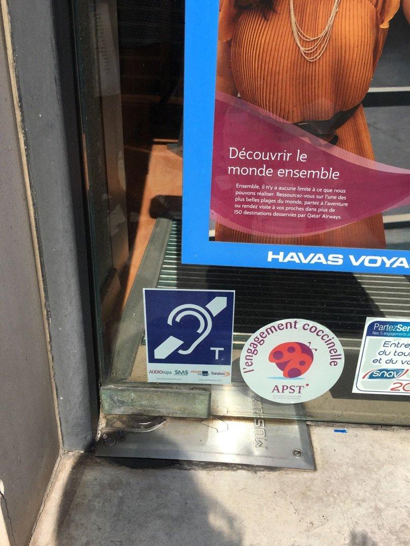 Foto del 26 de agosto de 2016 13:24, Havas Voyages, 168 Rue du Faubourg Saint-Honoré, 75008 Paris, Francia