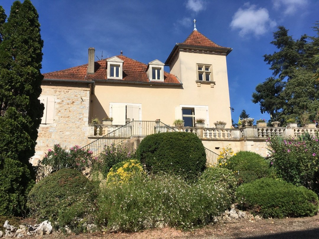 Foto vom 5. September 2016 14:36, Vignobles Saint-Didier Parnac, Château Saint-Didier, 46140 Parnac, Frankreich