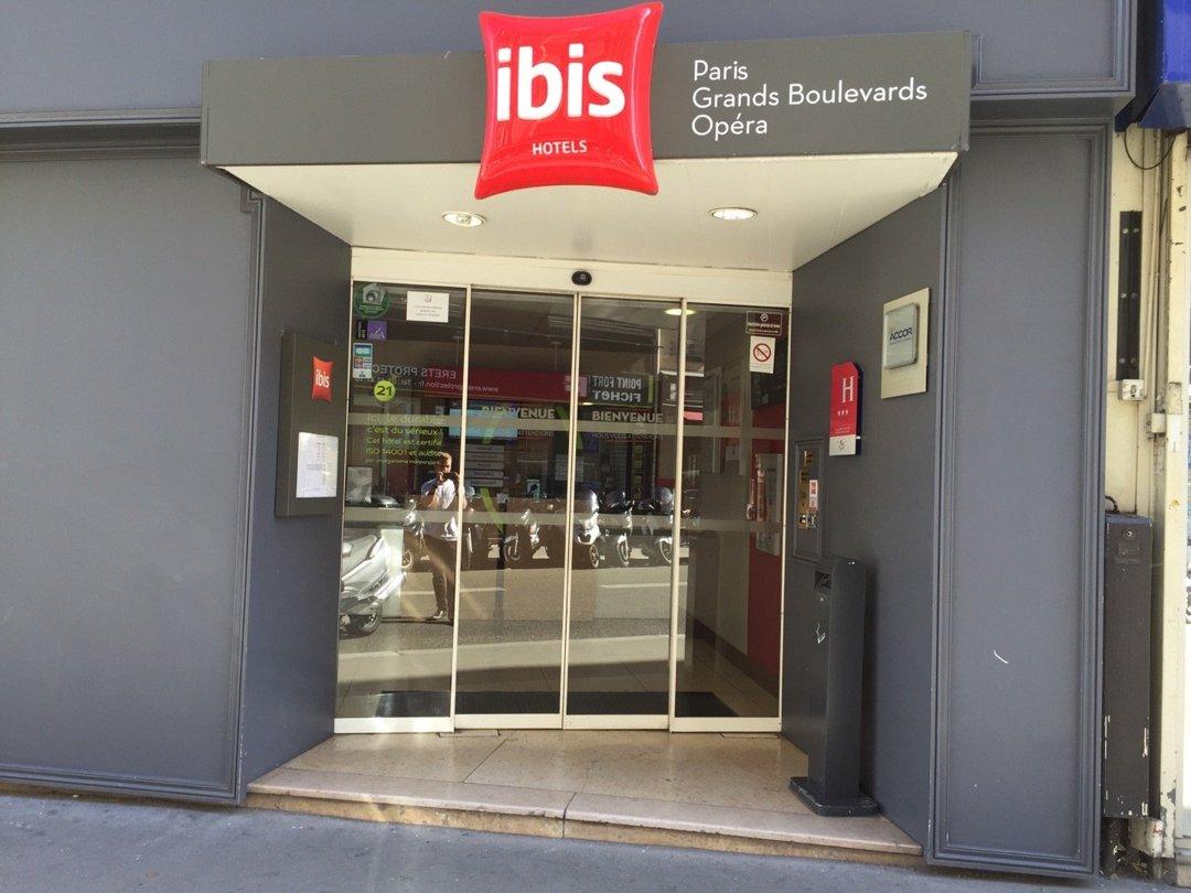 Photo du 9 septembre 2016 09:20, Hôtel ibis Paris Grands Boulevards Opera 9ème, 38 Rue du Faubourg Montmartre, 75009 Paris, France
