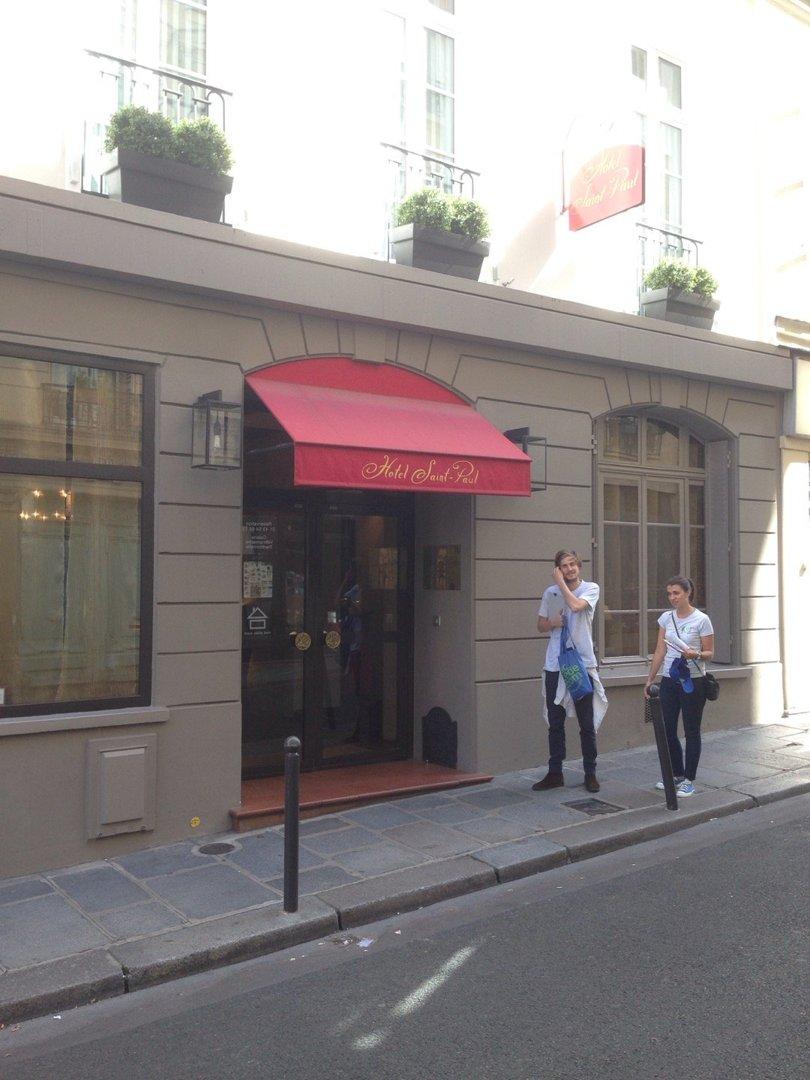 Foto del 9 de septiembre de 2016 12:24, Hotel Saint-Paul, 43 Rue Monsieur le Prince, 75006 Paris, Francia