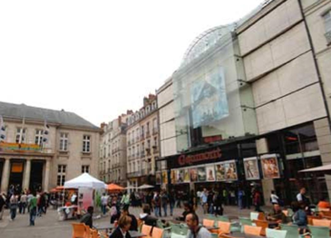 Foto del 5 de febrero de 2016 18:48, Gaumont Nantes, 12 Place du Commerce, 44000 Nantes, Francia