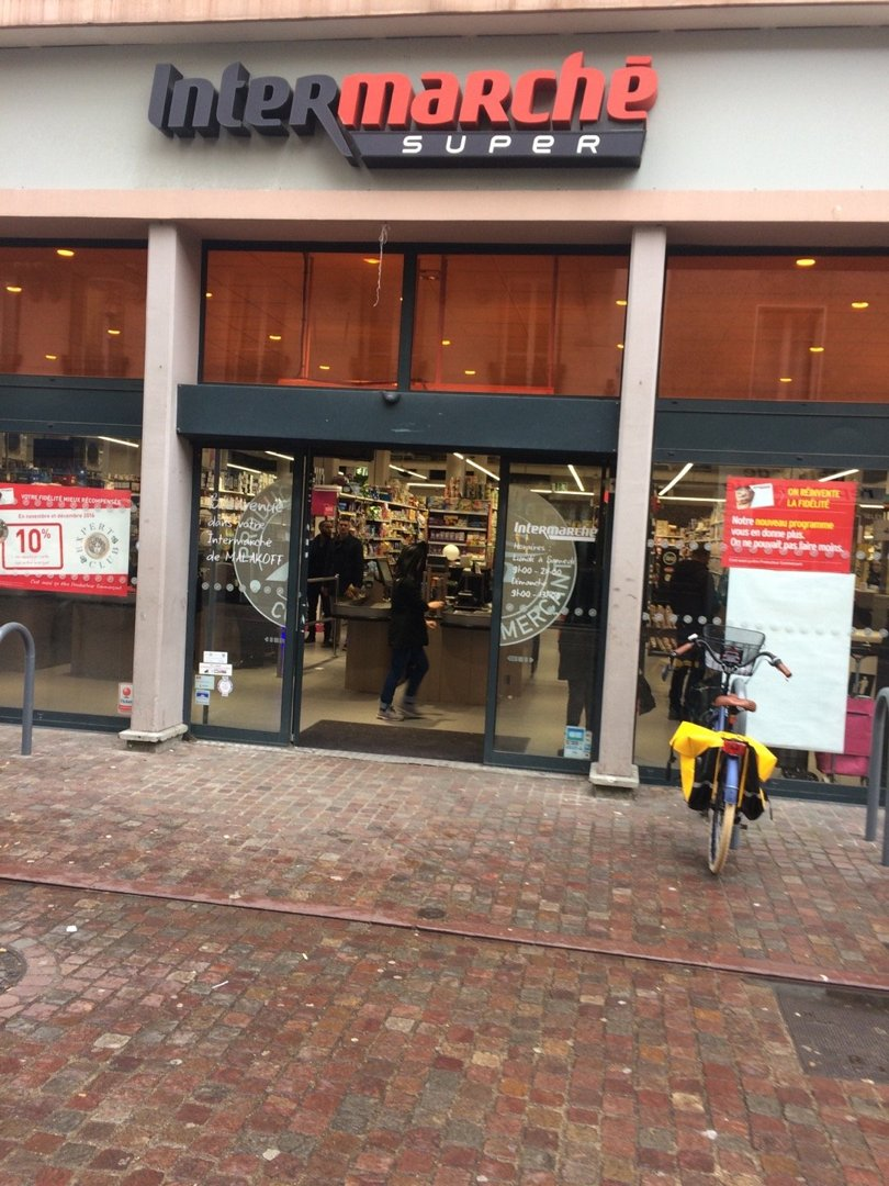 Foto vom 15. November 2016 12:02, Intermarché Express, 9 Rue Béranger, 92240 Malakoff, Frankreich