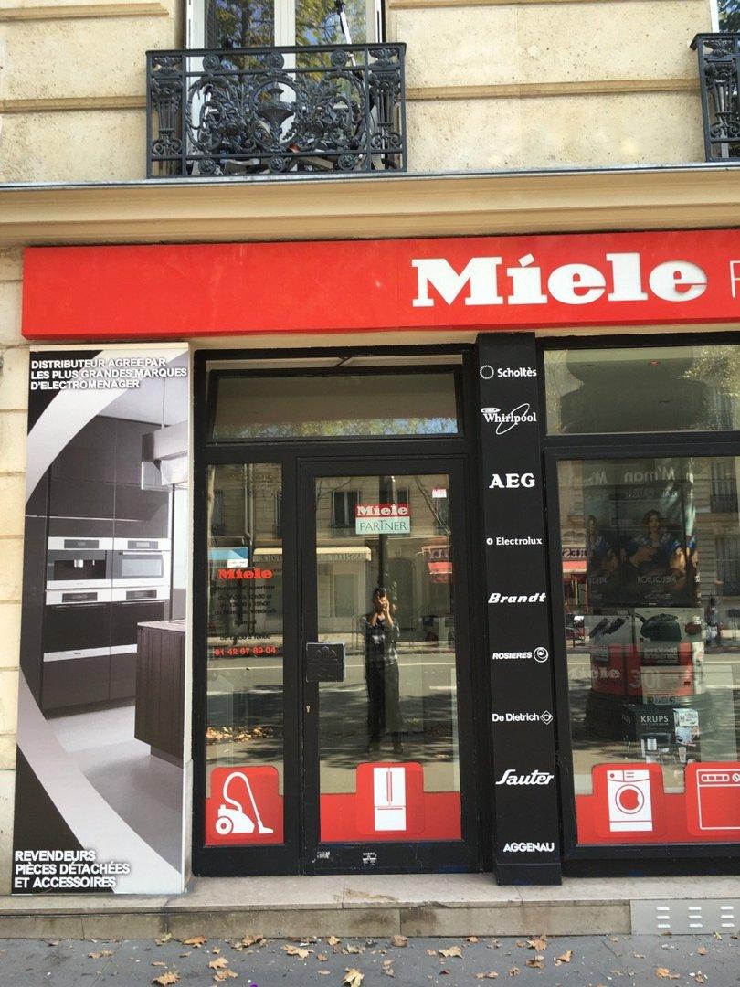 Photo of the August 26, 2016 12:34 PM, MIELE PATNER, 96 Avenue Niel, 75017 Paris, France
