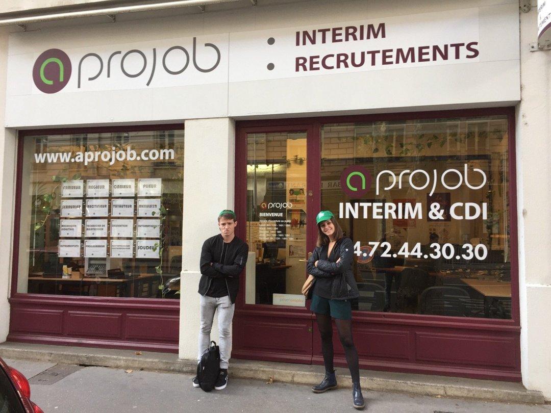 Photo of the October 18, 2016 2:11 PM, Aprojob Intérim Lyon, 29 Avenue Félix Faure, 69003 Lyon, France