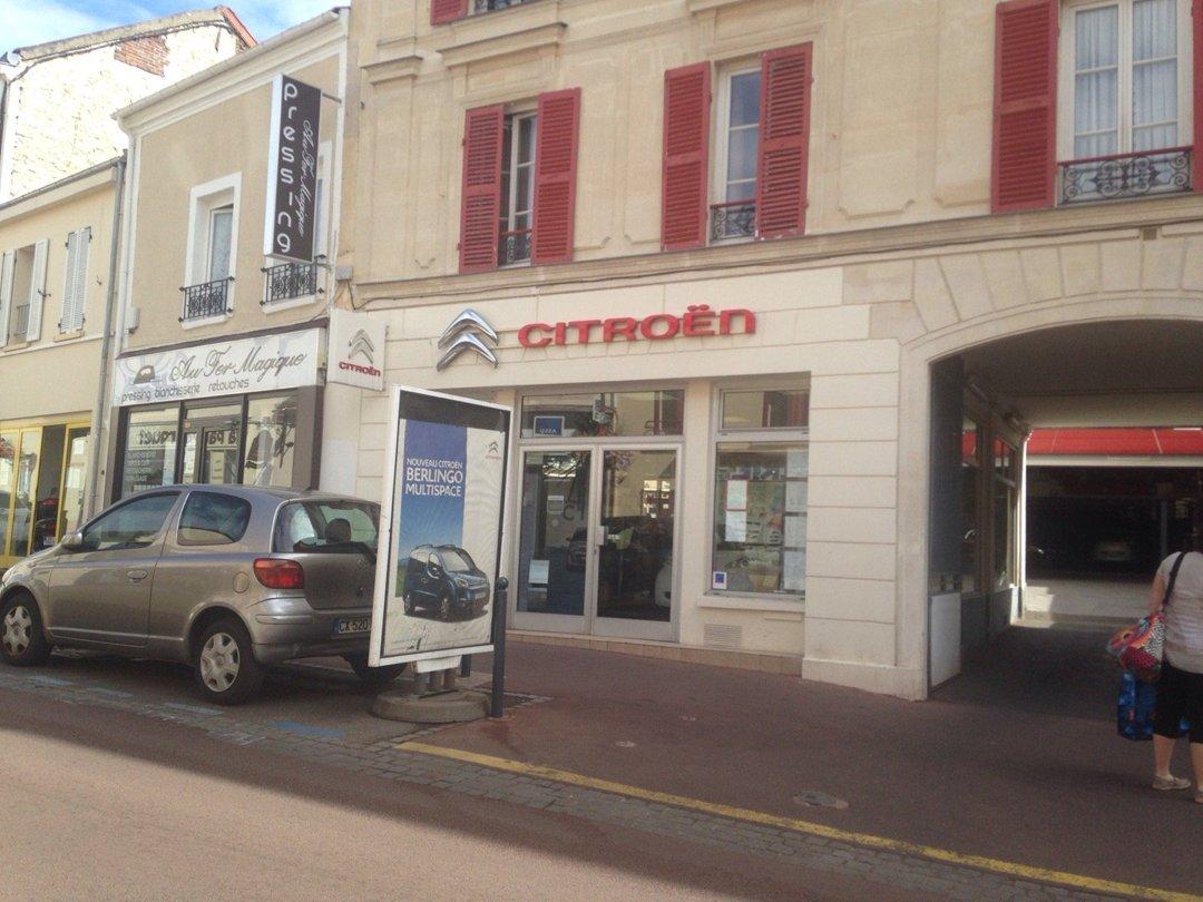 Foto vom 20. August 2016 12:38, Fontenay Automobiles - Citroën, 98 Rue Boucicaut, 92260 Fontenay-aux-Roses, Frankreich