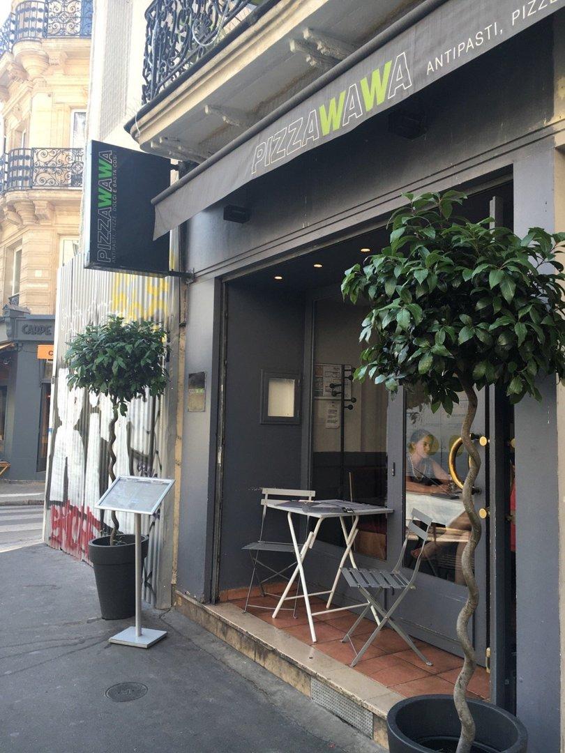 Foto del 26 de agosto de 2016 12:12, Pizza Wawa, 35 Rue Saint Honoré, 75001 Paris, Francia