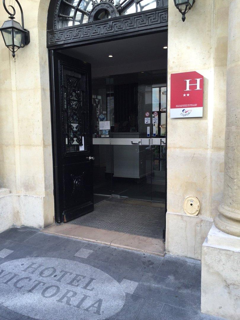 Foto del 9 de septiembre de 2016 8:58, Victoria Hotel, 2bis Cité Bergère, 75009 Paris, Francia