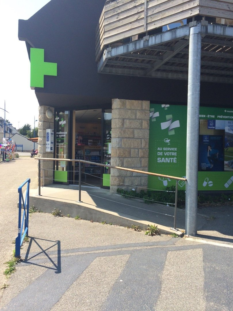 Photo of the August 16, 2016 1:01 PM, Pharmacy Kador, 2 Rue de l'Atlantique, 29160 Crozon, France